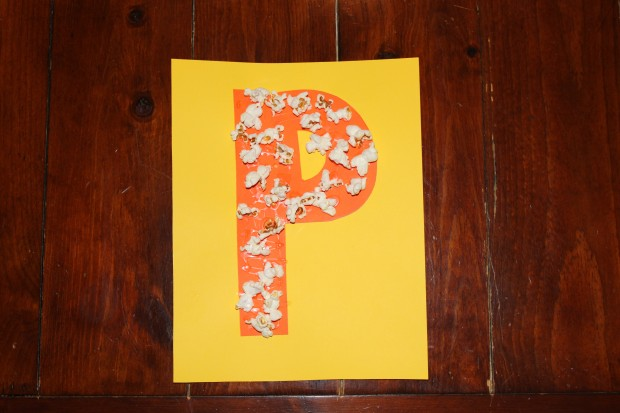 P is for Popcorn! Letter P Activities
