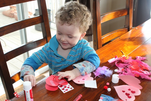 Making and Mailing Valentines