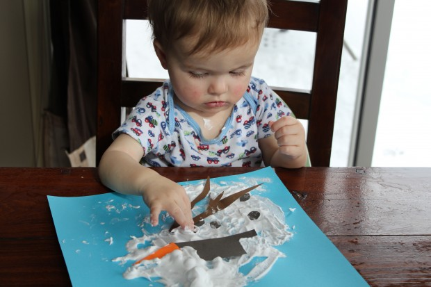 Melting Snowman Paintings