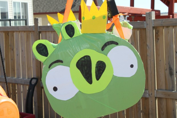 A's Angry Birds Birthday Party!
