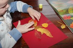 Leaf Man Art 16