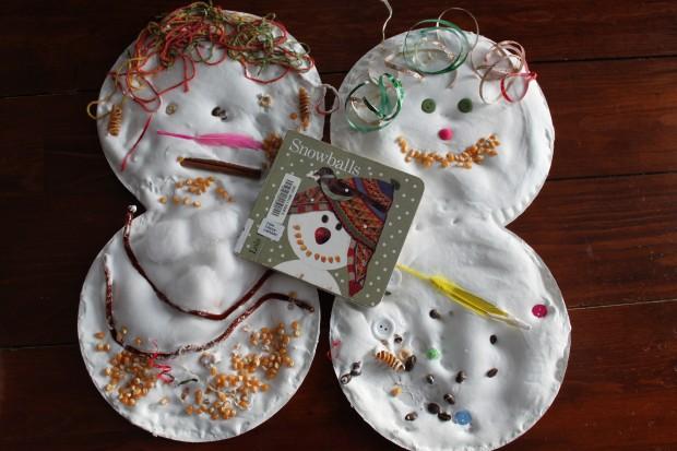 Lois Ehlert Snowballs: Creating Eccentric Snowmen