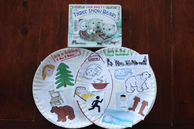 The Three Snow Bears: Venn Diagram