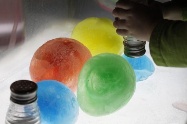 Melting Ice Globes