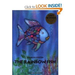 Rainbow fish suncatcher for The rainbow fish by marcus pfister