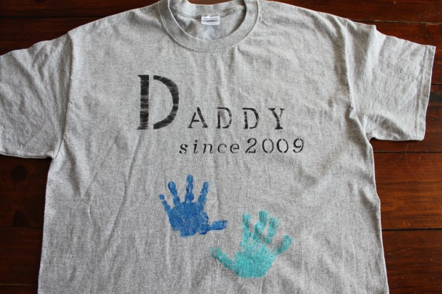 DIY Father's Day Shirts