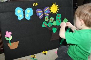 Spring Felt Board 1
