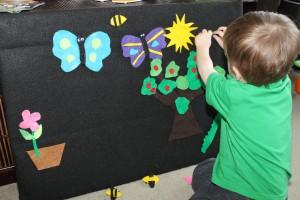 Spring Felt Board 2