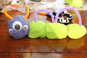 Halloween Playdough 12