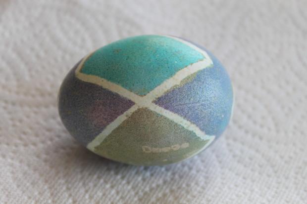 Pysanky Inspired Easter Eggs
