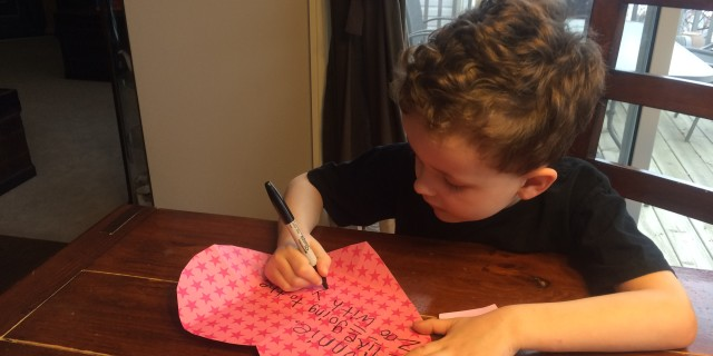 Valentine's Day Heart Envelopes