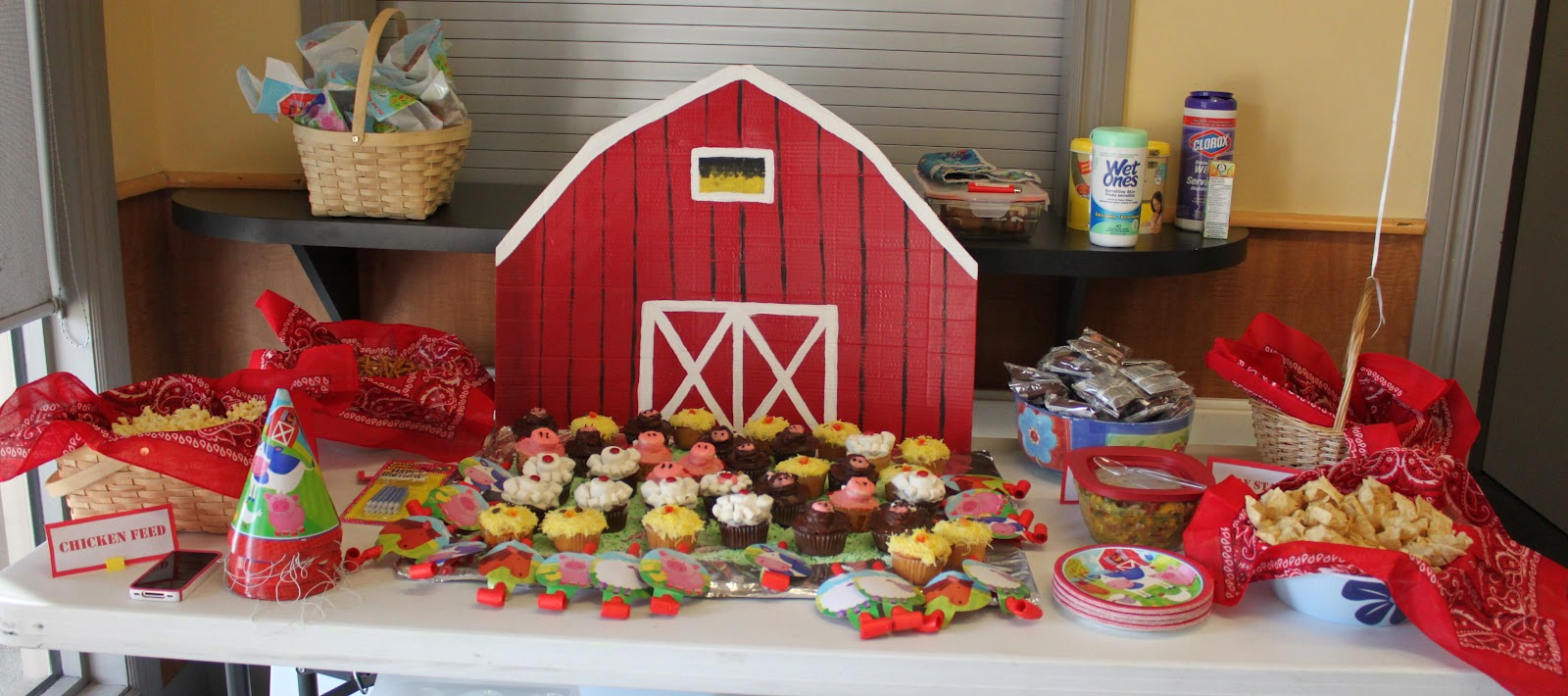 B's 1st Birthday Barnyard Bash!
