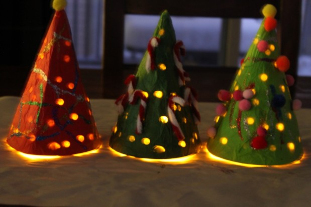 Xmas Lights Craft