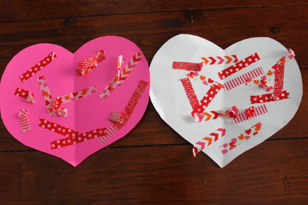 Craft Tape Valentine