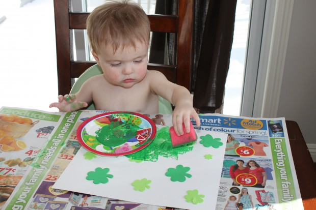 Shamrock Paintings