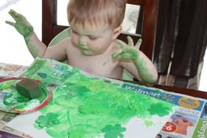 Shamrock Painting
