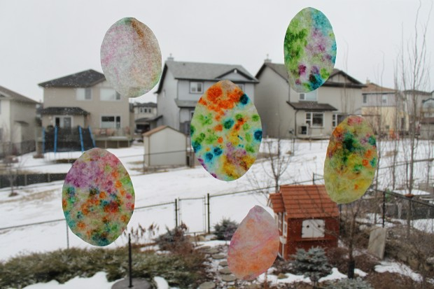 Tie-Dye, Stained Glass Easter Eggs!
