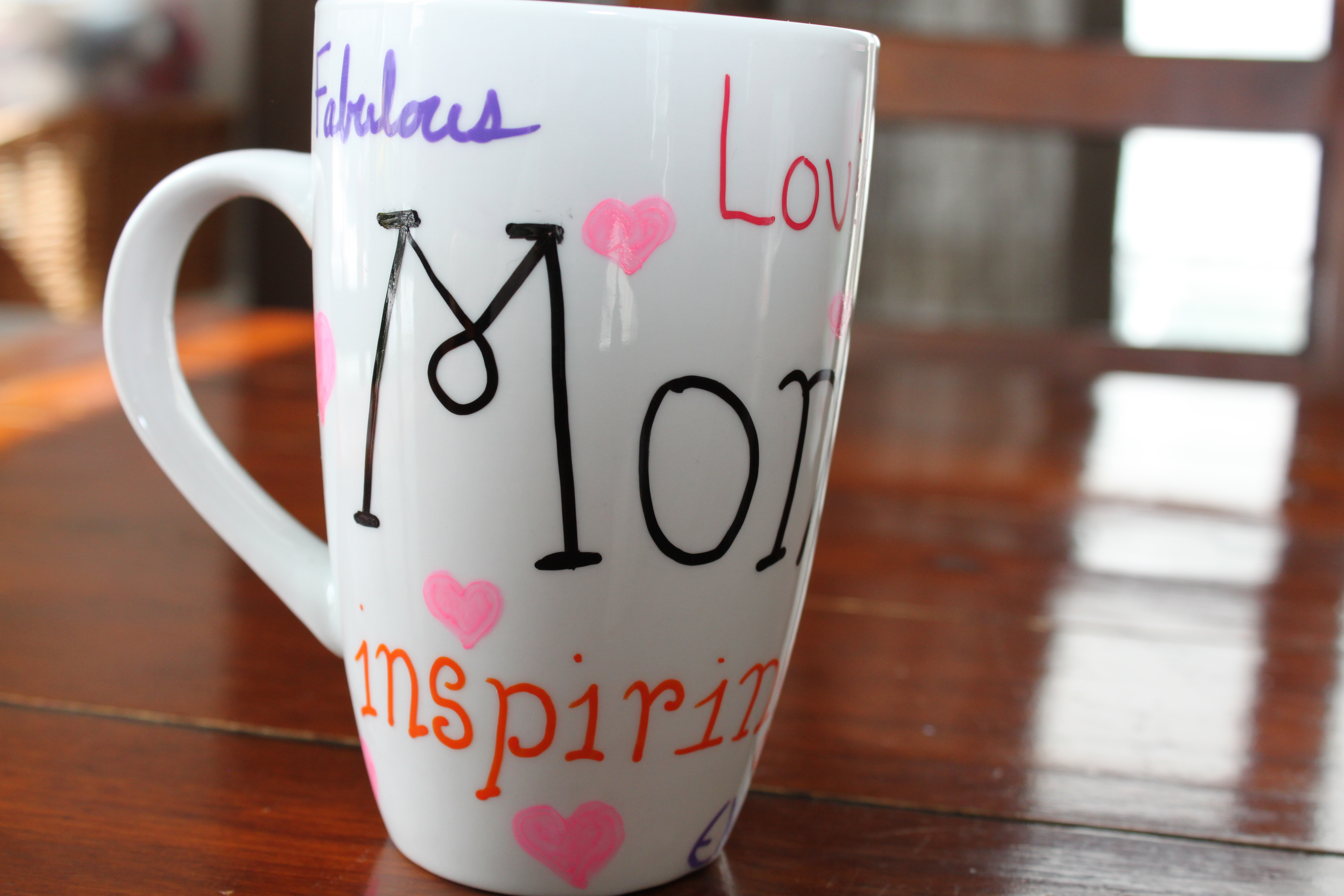 Diy Painted Mugs For Mother S Day