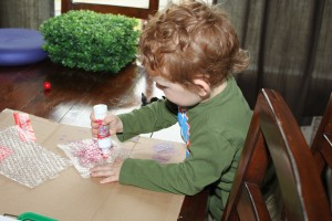 'A Colour of His Own' art activity