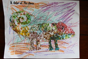 'A Color of His Own' art activity