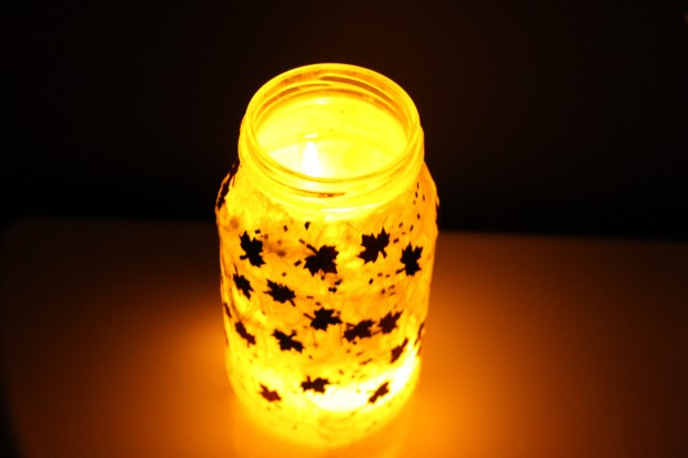 Canada Day Craft (DIY Night Light)