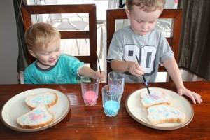 painted toast 24