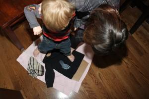 Ghost Footprint Shirts 10