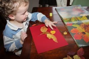Leaf Man Art 14