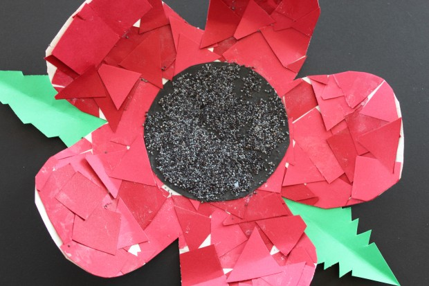 Remembrance Day: Poppy Craft