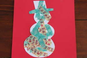 Washi Tape Christmas Silhouettes 12