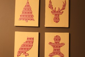 Washi Tape Christmas Silhouettes 18