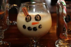 Fingerprint Snowman Glasses. 4