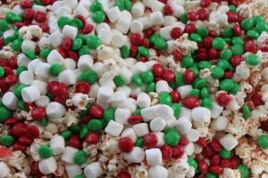 Snowman Christmas Popcorn 5