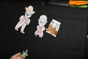 The Gingerbread Man Felt Characters 2