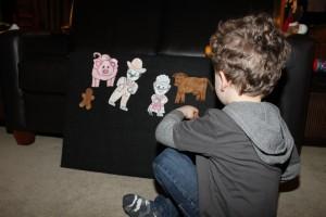 The Gingerbread Man Felt Characters 3