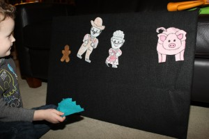 The Gingerbread Man Felt Characters 4