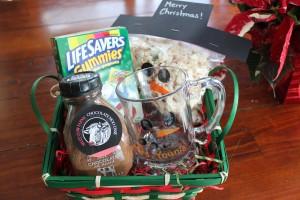 snowman gift baskets