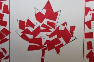 Canada Flag Mosaic 8