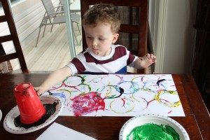 Olympic Rings Painting 2