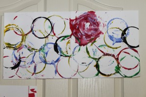 Olympic Rings Painting 3