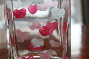 Thumbprint Heart Vase 1