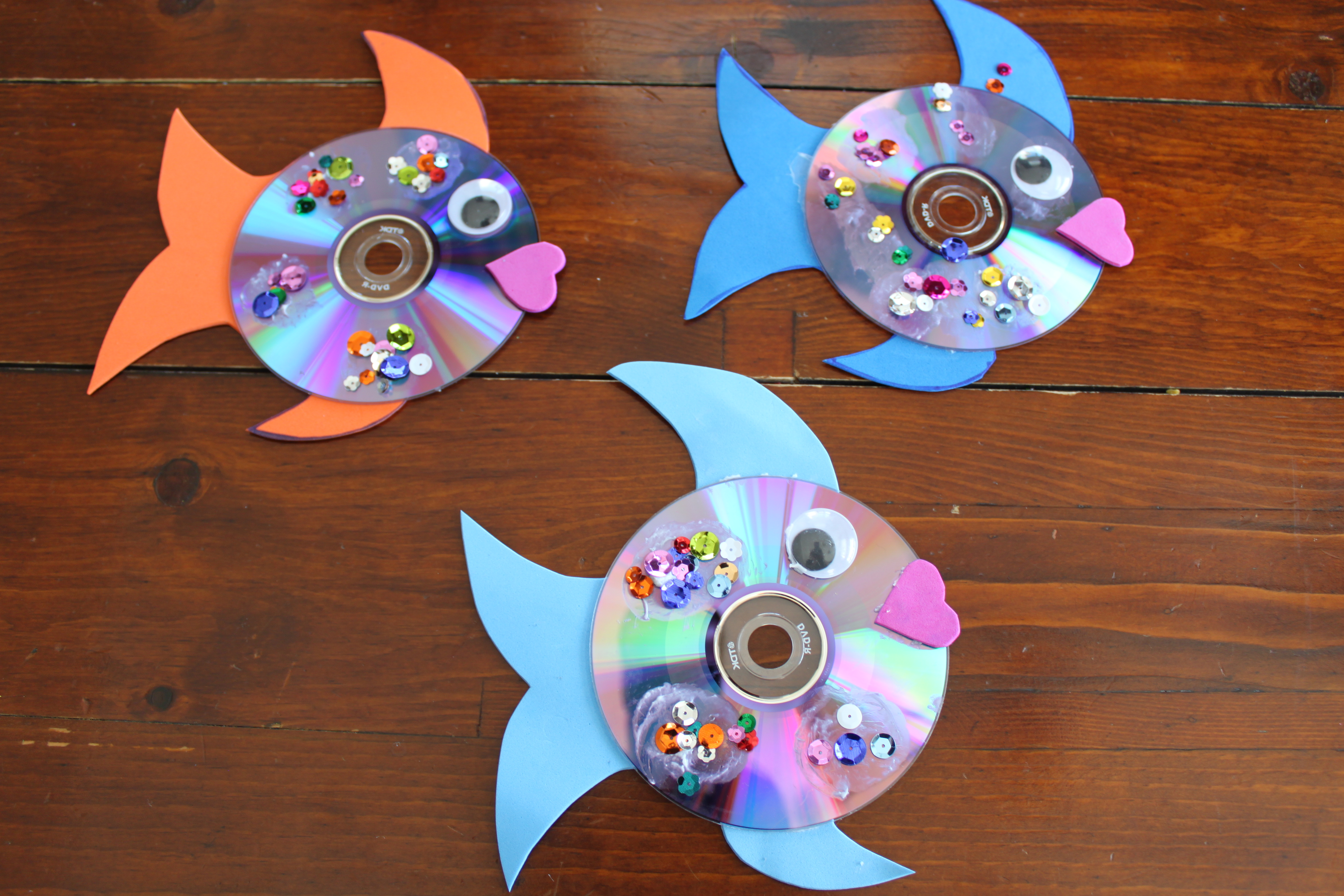 Cd Fish Kids Craft