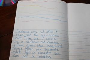 making rainbows 11