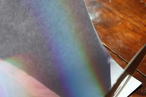 making rainbows 2