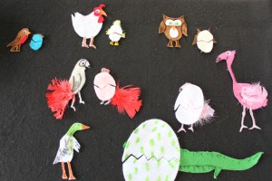The Odd Egg Felt Board 11