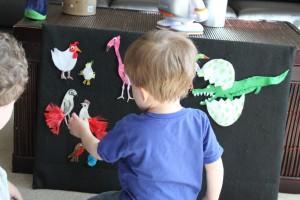 The Odd Egg Felt Board 9