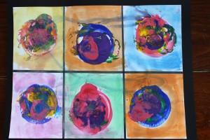 Kandinsky Concentric Circles 15
