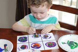 Kandinsky Concentric Circles 8