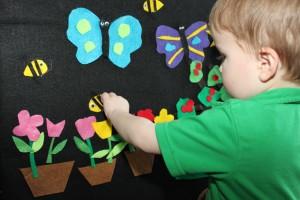 Spring Felt Board 4