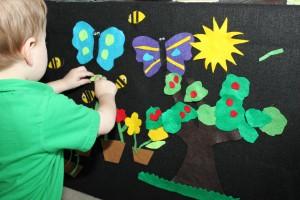Spring Felt Board 7